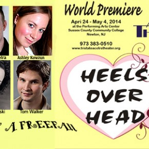 STRAUS NEWS  ON: KICKSTARTER CAMPAIGN FOR HEELS OVER HEAD---