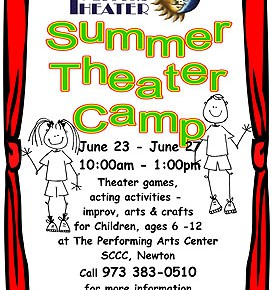 TRI-STATE'S THEATRE CAMP FOR CHILDREN--JUNE 23-27