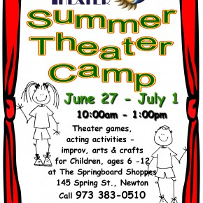 Summer Theater Camp for Kids....June 27-July 1