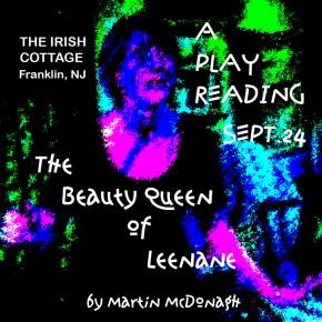 IRISH PLAY READING AT IRISH PUB--SEPT. 24