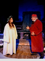 The Ghost of Christmas Past & Scrooge