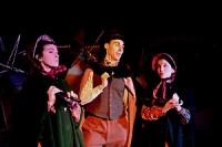 The Merchants make jokes about a funeral---