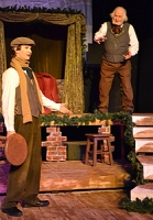 "Scrooge talks the ""Turkey""boy into getting him a turkey for the Cratchits!"